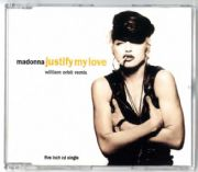 JUSTIFY MY LOVE - UK / EU CD SINGLE (W9000CD)